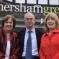 Hersham candidates Cllrs Mary Sheldon, John O'Reilly and Ruth Mitchell