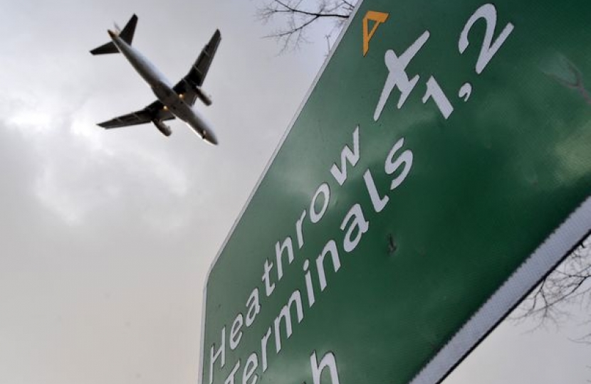 Elmbridge has expressed concerns about noise and air polution from Heathrow Airport