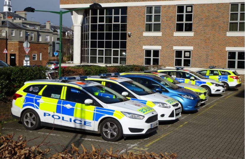 Police are now based at Esher Civic Centre