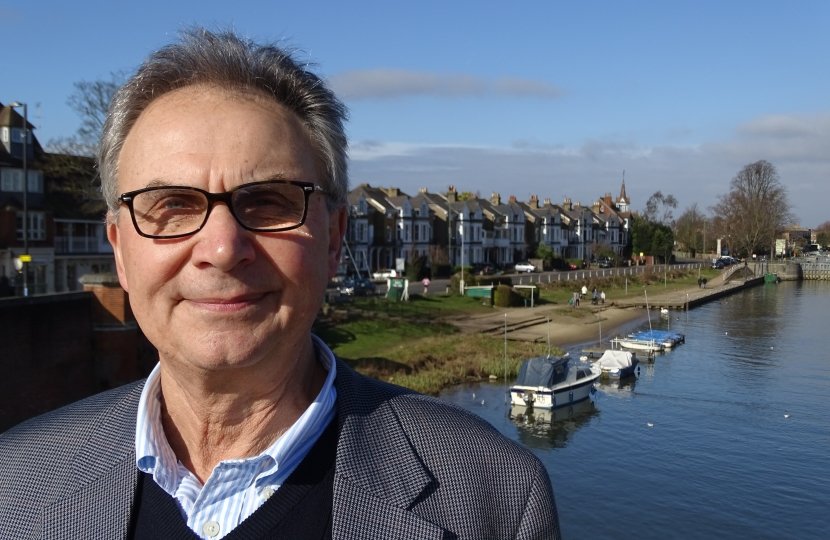 Peter Szanto, County Councillor for East Molesey and Esher
