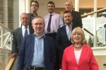 Cllr James Browne and his Shadow Cabinet