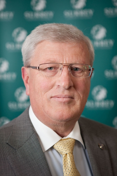 David Hodge, leader of Surrey County Council