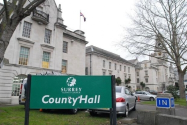 County Hall in Kingston, home of Surrey County Council