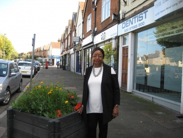 Long Ditton Conservative candidate Claudia Riley-Hards