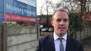 Embedded thumbnail for Watch: Dominic Raab on Conservatives' pledge to increase NHS funding